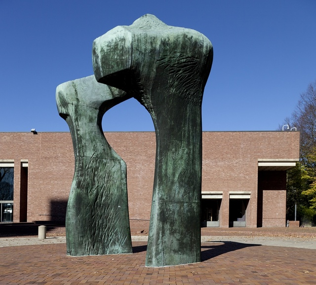 Large Arch by sculptor Henry Moore. Columbus, Indiana