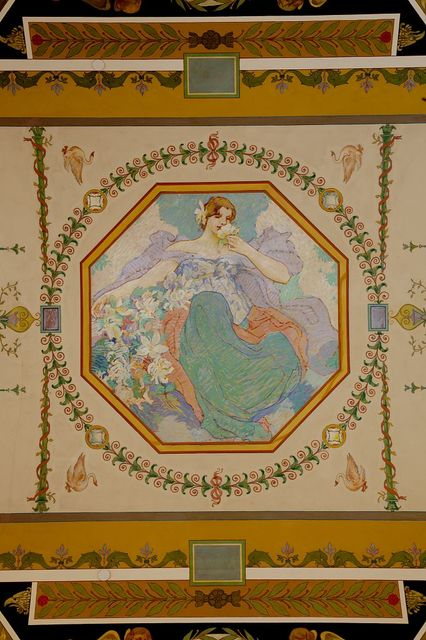 [Second floor, north corridor. Mural depicting Smell of the Five Senses, by Robert Reid. Library of Congress Thomas Jefferson Building, Washington, D.C.]