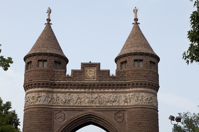 Soldiers & Sailors Arch in Bushnell Park in Hartford, Connecticut