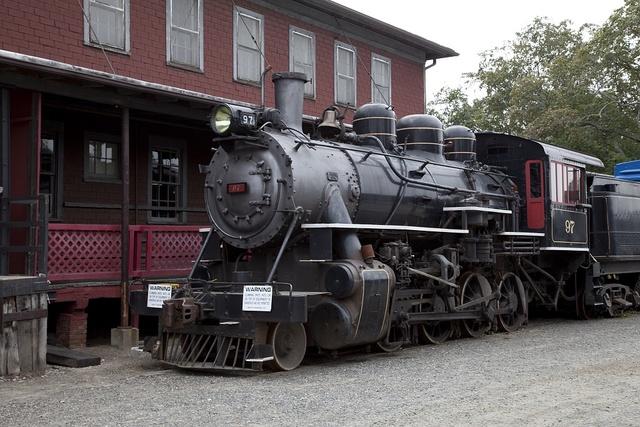 Steam train, Essex, Connecticut