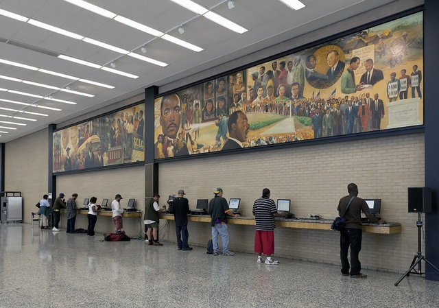 The Martin Luther King, Jr. Memorial Library, Washington, D.C.