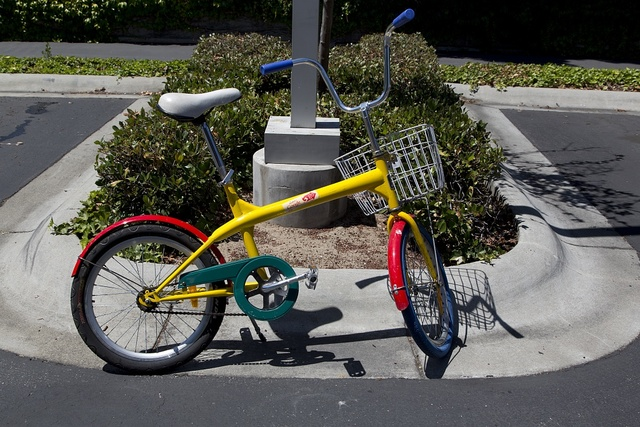 [Bikes that are used by employees to ride between buildings. Google Headquarters, Mountain View, California]