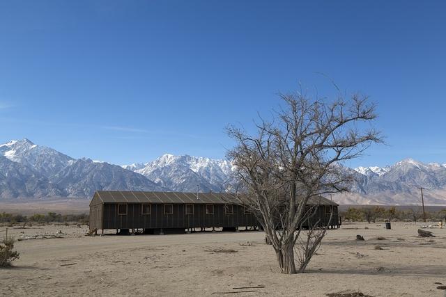 Building, Manzanar War Relocation Center, California