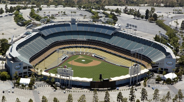 Dodger Stadium, also sometimes called Chavez Ravine, is a stadium in Los Angeles, California