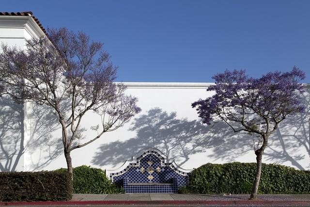 Downtown architectural details in Santa Barbara, California