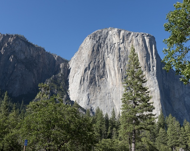 El Capitan in Yosemite National Park which spans eastern portions of Tuolumne, Mariposa and Madera counties in California