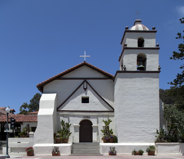Fountain, Mission San Buenaventura, Ventura, California