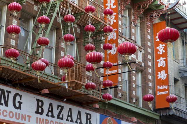Historic Chinatown in San Francisco, California