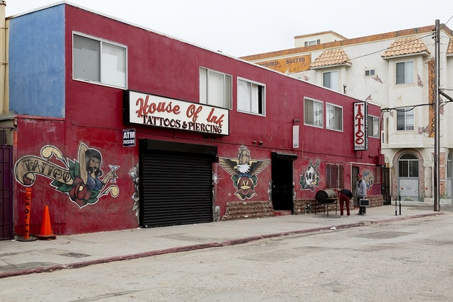 House of Ink Tattoos & Piercing in Venice, a beachfront district on the Westside of Los Angeles, California