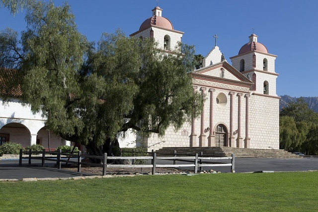 Mission Santa Barbara, also known as Santa Barbara Mission, is a Spanish mission founded by the Franciscan order near present- day Santa Barbara, California