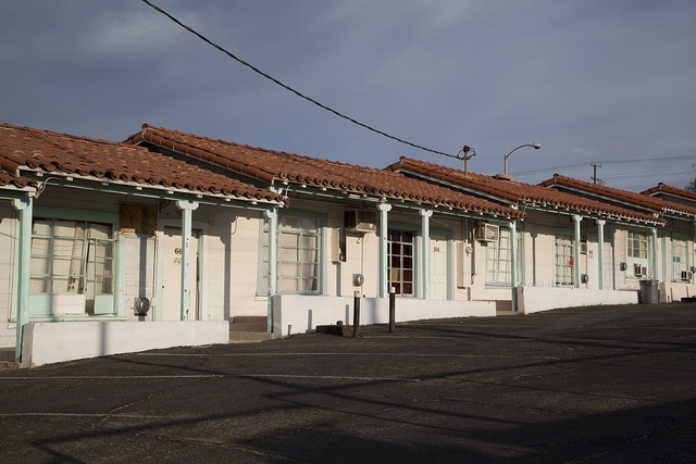 Motel in Barstow, California