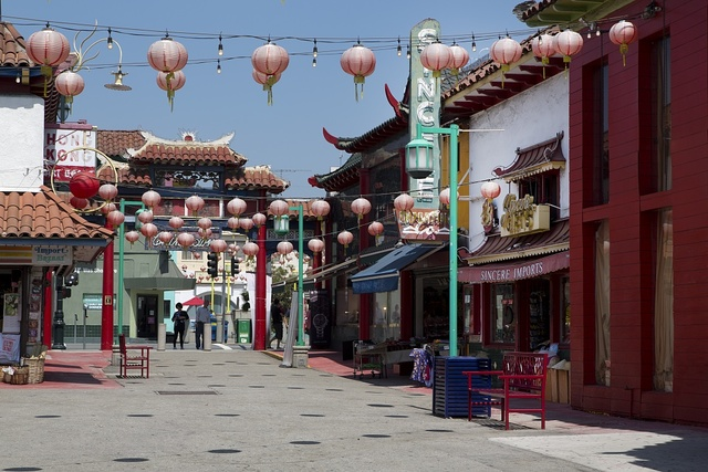 New Chinatown in Los Angeles, California