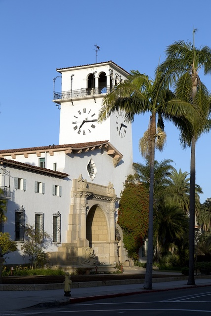 Santa Barbara, the county seat of Santa Barbara County, California