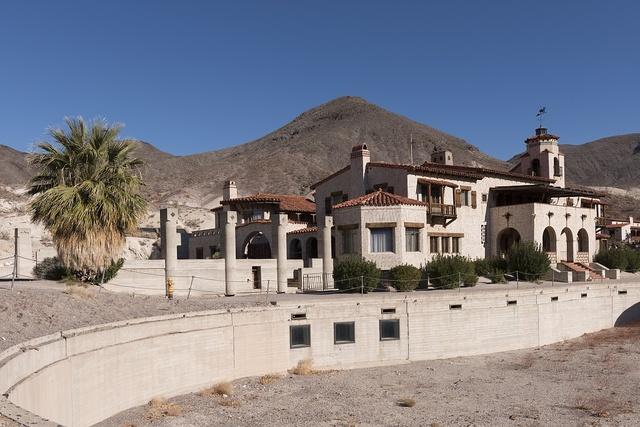 """Scotty's Castle"" in Death Valley, California"