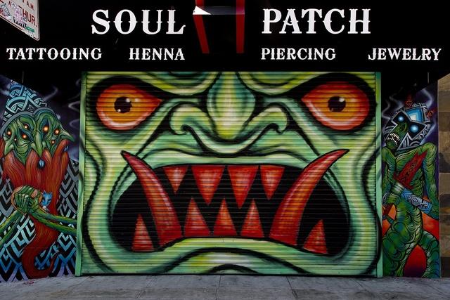 Soul Patch mural in the Haight-Ashbury neighborhood, San Francisco, California