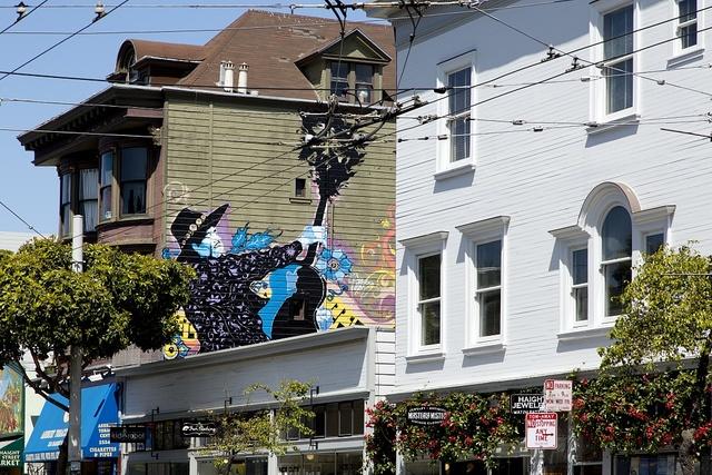 The Haight-Ashbury neighborhood, San Francisco, California