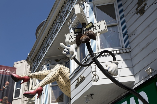 The Haight-Ashbury neighborhood, San Francisco, California
