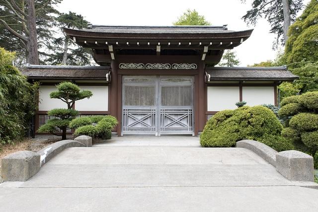 The Japanese Tea Garden, located inside Golden Gate Park, San Francisco, California
