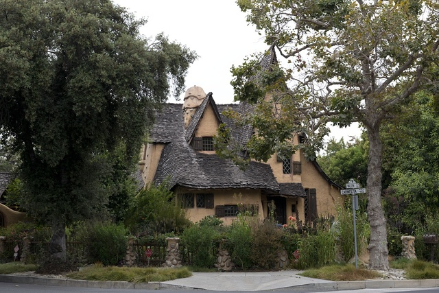 The Spadena House, also known as The Witch's House, is a storybook house in Beverly Hills, California