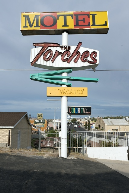 The Torches Motel, Barstow, California
