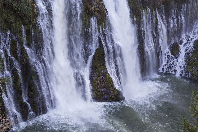 The waterfall at MacArthur-Burney Falls Memorial State Park, California