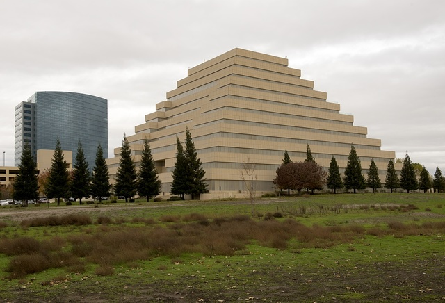 The Ziggurat office building in Sacramento is the capital city of the U.S. state of California and the county seat of Sacramento County