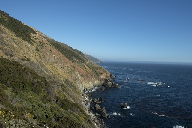 Views from Pacific Coast Highway, Scenic State Route 1, a major north-south state highway that runs along most of the Pacific coastline of California