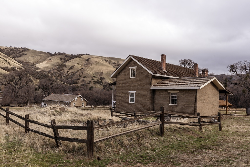 Captain John William Tudor Gardiner's quarters at Fort Tejon, a California State Historical Park, in Grapevine Canyon on the main route  between California's central valley and Southern California