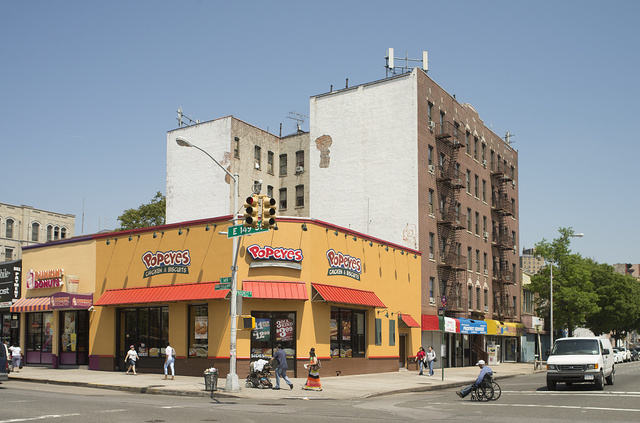 E. 149th St. at Prospect Ave., South Bronx, 2013