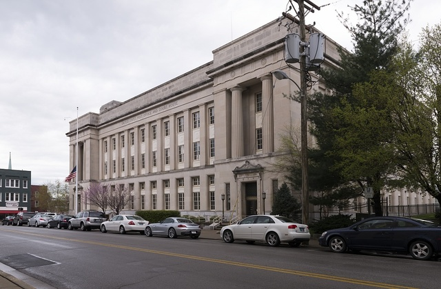Exterior view of U.S. Post Office & Court House, Lexington, Kentucky