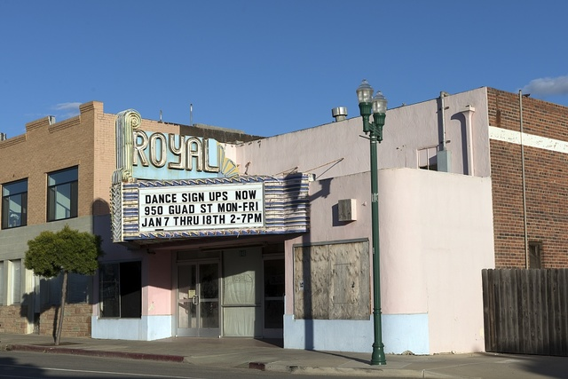 Movie theater in Guadalupe, California