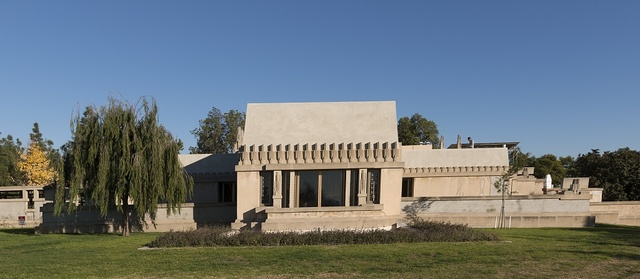 "The ""Hollyhock House,"" in the East Hollywood neighborhood of Los Angeles, California"