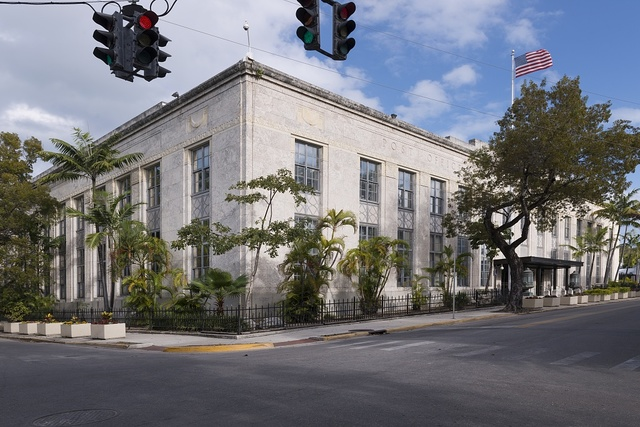 The Sidney M. Aronovitz U.S. Courthouse, Post Office and Custom House, Key West, Florida