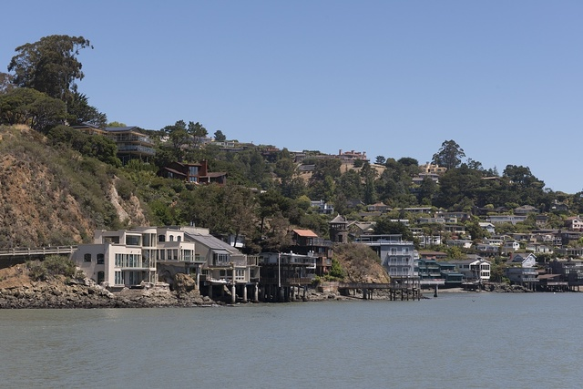 Tiburon, an incorporated town in Marin County, California