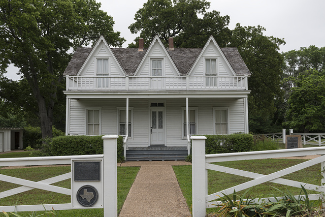 Birth home of former U.S. General and President Dwight D. Eisenhower in Denison, Texas