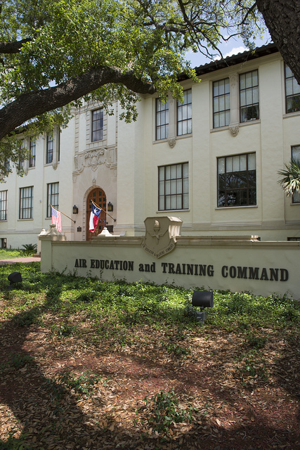 Building 661 at Randolph Field, now Randolph Air Force Base, part of the U.S. Military's Joint Base San Antonio, Texas