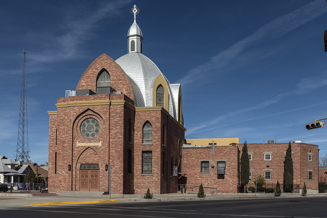 Christ the King Monastery, home to the Sisters of Perpetual Adoration order, in El Paso, Texas