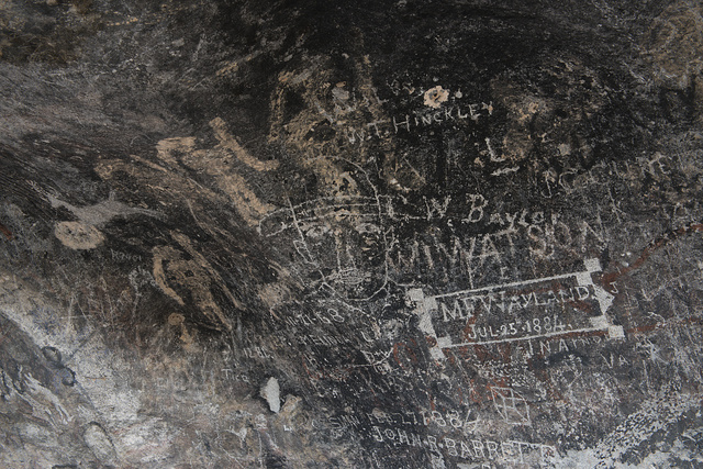 Native peoples from three eras depicted their civilizations in rock pictures at what is now Hueco Tanks State Park & Historic Site in the low mountains above El Paso, Texas