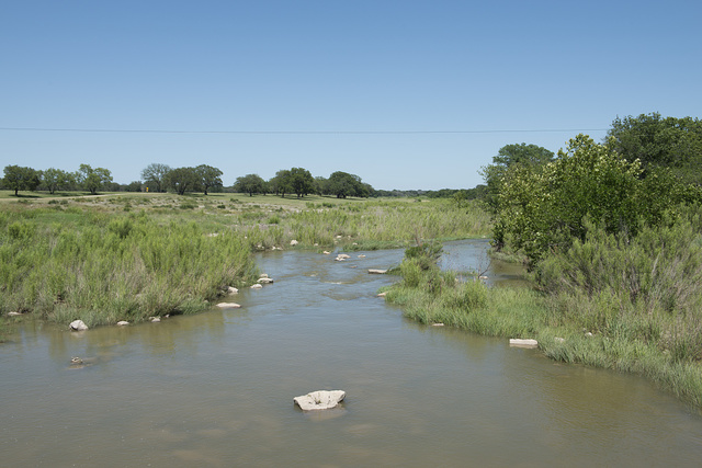 """President Lyndon B. Johnson and his wife, Lady Bird Johnson, loved their piece of the Pedernales River, which winds through the property that Johnson purchased in 1951 from a widowed aunt. The ranch house on the land became the """"Texas White House"""" during Johnson's presidency in the 1960s"""