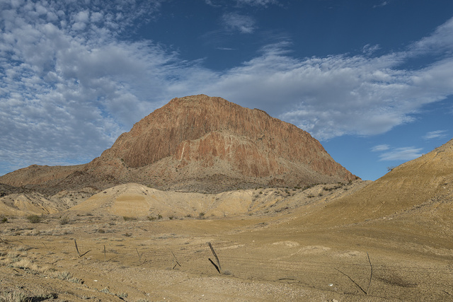 "Rugged terrain north of Big Bend National Park in the ""Trans-Pecos"" region of southwest Texas"