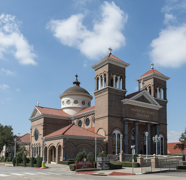 Saint Anthony Cathedral Basilica, the cathedral of the Roman Catholic Diocese of Beaumont, Texas