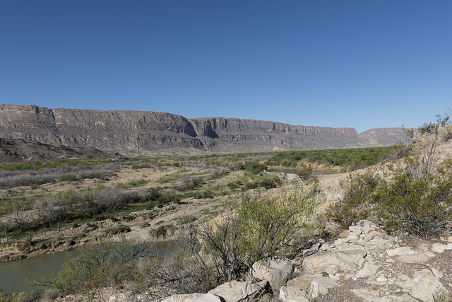 Scene from Big Bend National Park in Brewster County, Texas