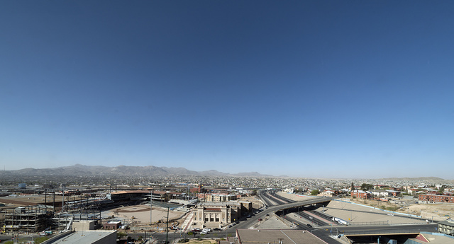 Skyline view of El Paso, Texas