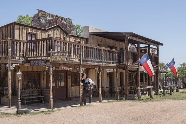 Steve Schmidt is the sheriff in town at the Enchanted Springs Ranch and Old West theme park, special-events venue, and frequent movie and television commercial set in Boerne, Texas, northwest of San Antonio. Schmidt, a rancher and retired B52 pilot, owns the ranch