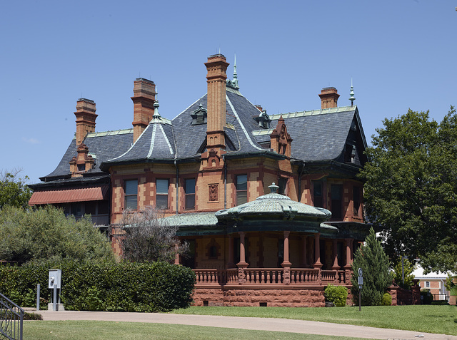 The Ball-Eddleman-McFarland House, one of several cattle barons' mansions in Fort Worth, Texas