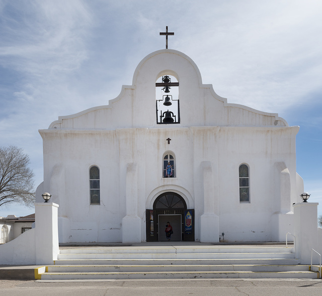 The chapel of San Elizario, founded in 1789, is often mistaken for a Spanish mission, since it lies quite near two missions in nearby El Paso, Texas