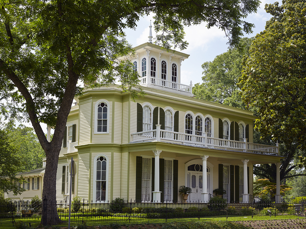 "The name of the 1872 ""House of the Seasons"" in Jefferson, Texas, derives from the play of light through its cupola's stained-glass windows, which produce effects that suggest all four seasons"