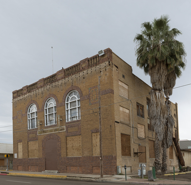 The old, abandoned Webb County Courthouse in Laredo, Texas