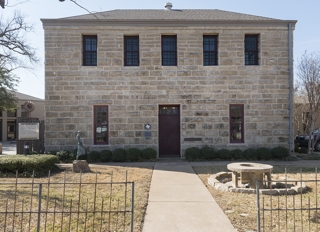 The Old Jail Art Center in Albany, Texas, seat of Shackelford County