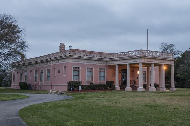 The Pompeiian Villa in Port Arthur, Texas